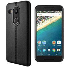 Coque Portefeuille Livre Cuir pour Google Nexus 5X Noir