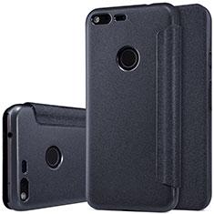 Coque Portefeuille Livre Cuir pour Google Pixel XL Noir