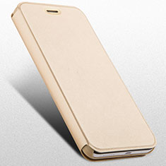 Coque Portefeuille Livre Cuir pour Huawei Honor 4X Or
