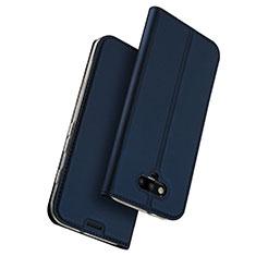 Coque Portefeuille Livre Cuir pour Huawei Honor Magic Bleu