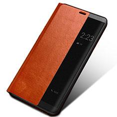 Coque Portefeuille Livre Cuir pour Huawei Mate 10 Marron