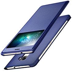 Coque Portefeuille Livre Cuir pour Huawei Mate S Bleu