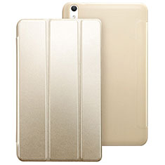 Coque Portefeuille Livre Cuir pour Huawei MediaPad T2 8.0 Pro Or