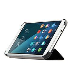 Coque Portefeuille Livre Cuir pour Huawei MediaPad X2 Noir