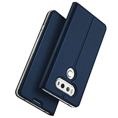 Coque Portefeuille Livre Cuir pour LG G6 Bleu