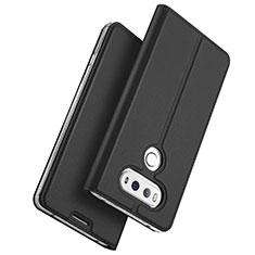 Coque Portefeuille Livre Cuir pour LG G6 Noir