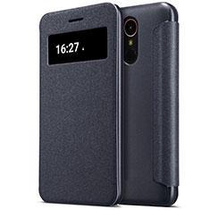 Coque Portefeuille Livre Cuir pour LG K10 (2017) Noir