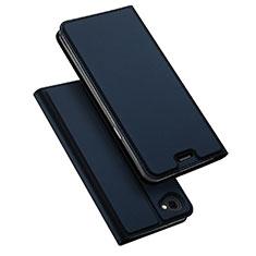 Coque Portefeuille Livre Cuir pour LG Q6 Bleu