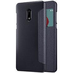 Coque Portefeuille Livre Cuir pour Nokia 6 Noir