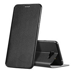 Coque Portefeuille Livre Cuir pour Samsung Galaxy C7 SM-C7000 Noir