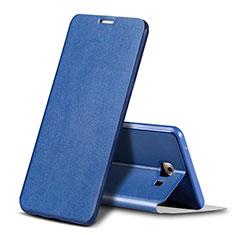 Coque Portefeuille Livre Cuir pour Samsung Galaxy C9 Pro C9000 Bleu