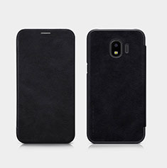 Coque Portefeuille Livre Cuir pour Samsung Galaxy Grand Prime Pro (2018) Noir