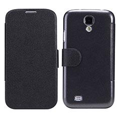 Coque Portefeuille Livre Cuir pour Samsung Galaxy S4 i9500 i9505 Noir