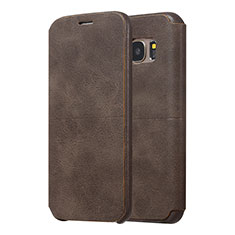 coque galaxy s7 marron