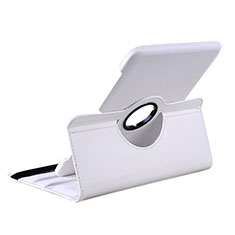 Coque Portefeuille Livre Cuir pour Samsung Galaxy Tab 2 10.1 P5100 P5110 Blanc
