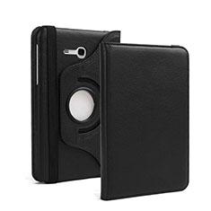 Coque Portefeuille Livre Cuir pour Samsung Galaxy Tab 3 Lite 7.0 T110 T113 Noir