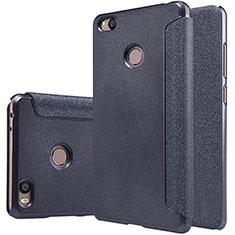 Coque Portefeuille Livre Cuir pour Xiaomi Mi 4S Noir