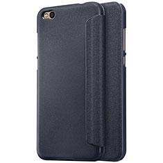 Coque Portefeuille Livre Cuir pour Xiaomi Mi 5C Noir
