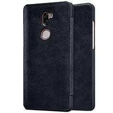 Coque Portefeuille Livre Cuir pour Xiaomi Mi 5S Plus Noir