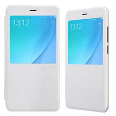 Coque Portefeuille Livre Cuir pour Xiaomi Mi 5X Blanc