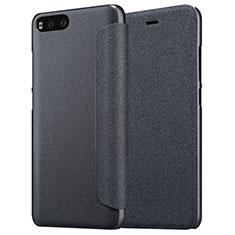 Coque Portefeuille Livre Cuir pour Xiaomi Mi 6 Noir