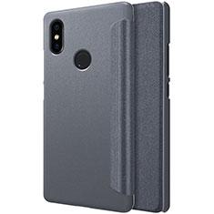 Coque Portefeuille Livre Cuir pour Xiaomi Mi 8 SE Noir
