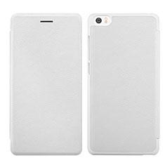 Coque Portefeuille Livre Cuir pour Xiaomi Mi Note Blanc