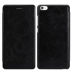 Coque Portefeuille Livre Cuir pour Xiaomi Mi Note Noir