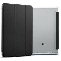 Coque Portefeuille Livre Cuir pour Xiaomi Mi Pad 2 Noir