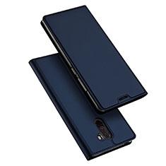Coque Portefeuille Livre Cuir pour Xiaomi Pocophone F1 Bleu