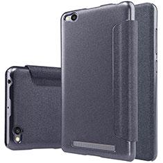 Coque Portefeuille Livre Cuir pour Xiaomi Redmi 3 Noir