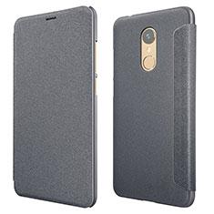 Coque Portefeuille Livre Cuir pour Xiaomi Redmi 5 Noir