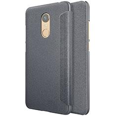 Coque Portefeuille Livre Cuir pour Xiaomi Redmi Note 5 Indian Version Noir