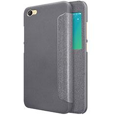 Coque Portefeuille Livre Cuir pour Xiaomi Redmi Note 5A Standard Edition Noir