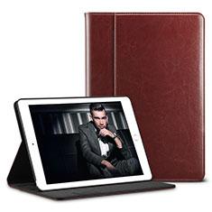 Coque Portefeuille Livre Cuir U01 pour Apple iPad Pro 10.5 Marron