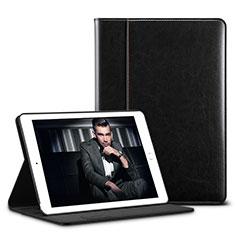Coque Portefeuille Livre Cuir U01 pour Apple iPad Pro 10.5 Noir