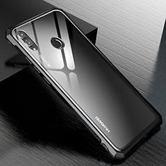 Coque Rebord Bumper Luxe Aluminum Metal Miroir Housse Etui M01 pour Huawei Honor 8X Noir