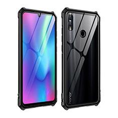 Coque Rebord Bumper Luxe Aluminum Metal Miroir Housse Etui pour Huawei P Smart (2019) Noir