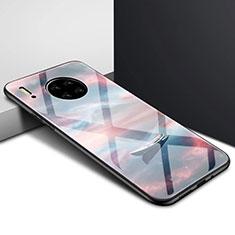 Coque Rebord Contour Silicone et Vitre Miroir Housse Etui pour Huawei Mate 30 Pro 5G Mixte