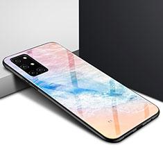 Coque Rebord Contour Silicone et Vitre Miroir Housse Etui pour OnePlus 8T 5G Colorful