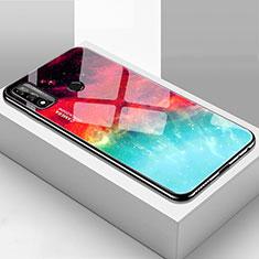 Coque Rebord Contour Silicone et Vitre Miroir Housse Etui T01 pour Huawei P Smart (2020) Mixte
