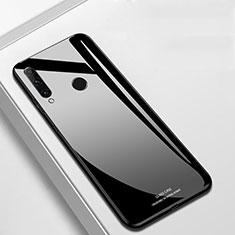 Coque Rebord Contour Silicone et Vitre Miroir Housse Etui T03 pour Huawei Honor 20 Lite Noir
