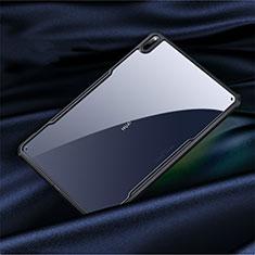 Coque Rebord Contour Silicone et Vitre Transparente Miroir Housse Etui M01 pour Huawei MatePad Pro 5G 10.8 Noir
