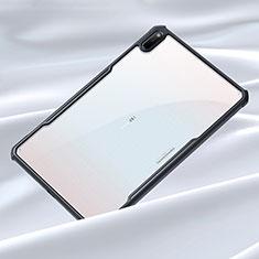 Coque Rebord Contour Silicone et Vitre Transparente Miroir Housse Etui pour Huawei MatePad 5G 10.4 Noir