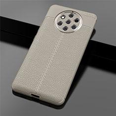 Coque Silicone Gel Motif Cuir Housse Etui pour Nokia 9 PureView Or