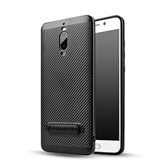 Coque Silicone Gel Serge avec Support pour Huawei Mate 9 Pro Noir