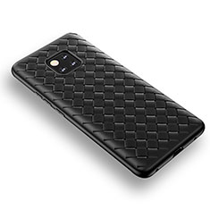 Coque Silicone Gel Serge B02 pour Huawei Mate 20 Pro Noir
