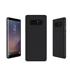 Coque Silicone Gel Serge B02 pour Samsung Galaxy Note 8 Duos N950F Noir