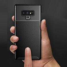 Coque Silicone Gel Serge B02 pour Samsung Galaxy Note 9 Noir