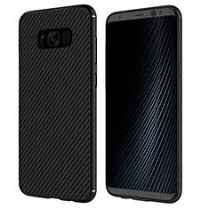 Coque Silicone Gel Serge B02 pour Samsung Galaxy S8 Noir